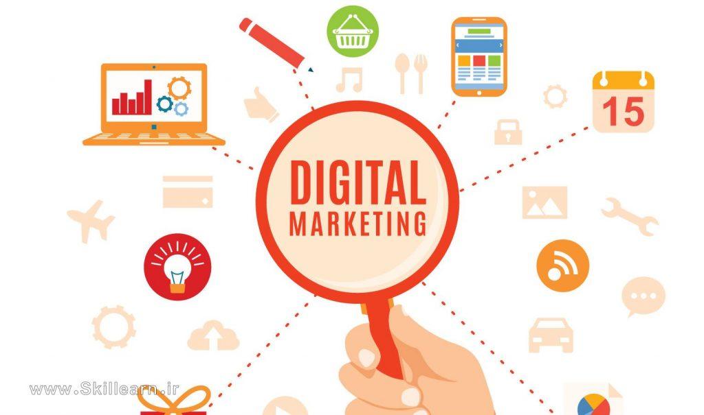 از دیجیتال مارکتینگ برای چه اهدافی استفاده می شود؟
