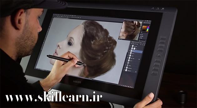 استفاده از فتوشاپ در دیجیتال پینتینگ و چالش های پیش روی هنرمندان