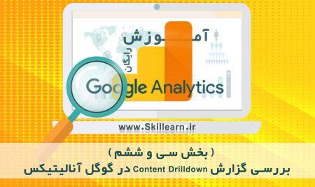 آموزش گوگل آنالیتیکس  – بخش سی و ششم – بررسی گزارش Content Drilldown در گوگل آنالیتیکس