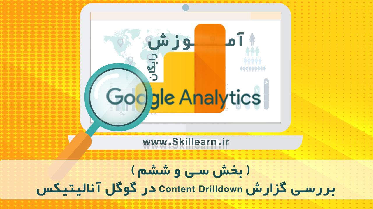 بررسی گزارش Content Drilldown در گوگل آنالیتیکس