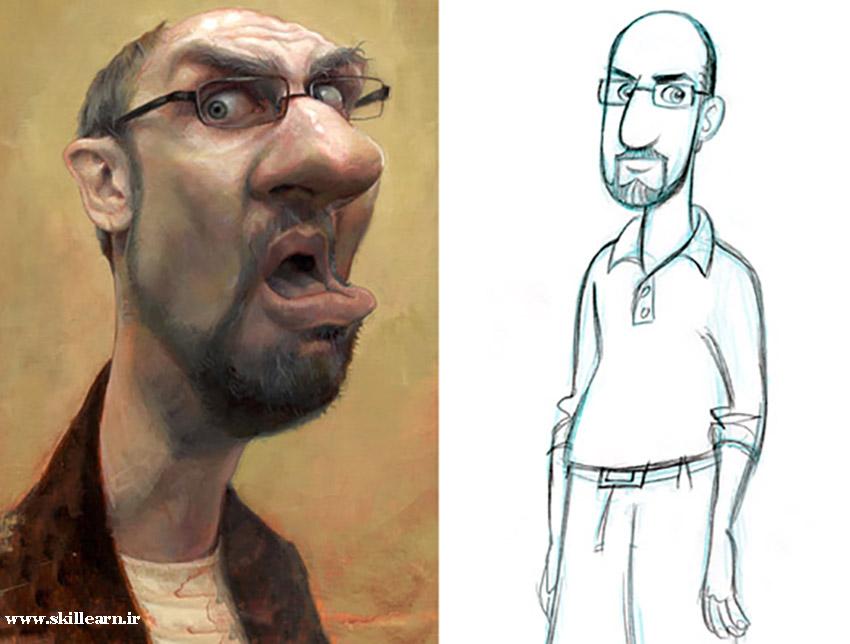 تفاوت کارتون و کاریکاتور