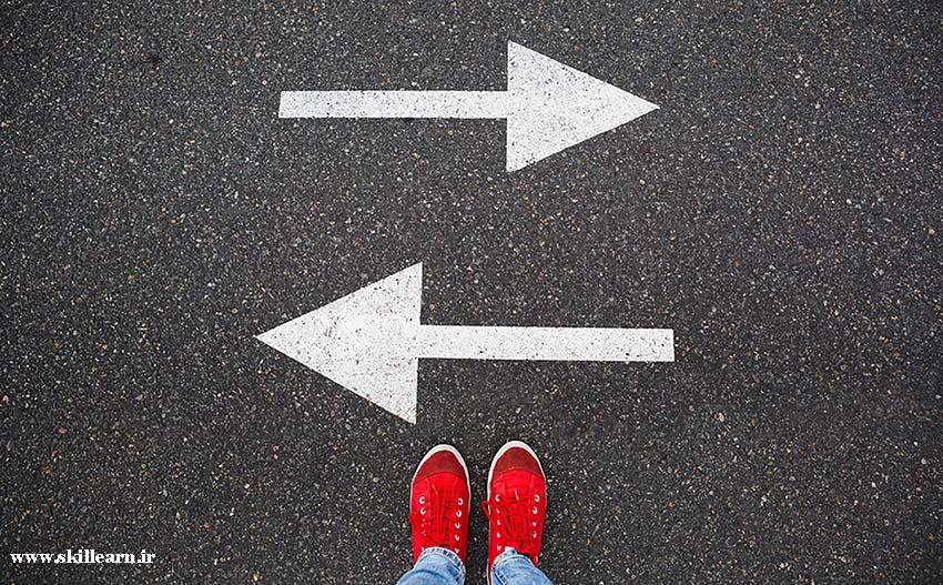 اهمیت تصمیم گیری برای پیشرفت انسان در زندگی